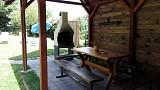 chata Zuzanka gril posedenie